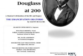 ROS to perform McClure's Emancipation Oratorio February 16, 2018